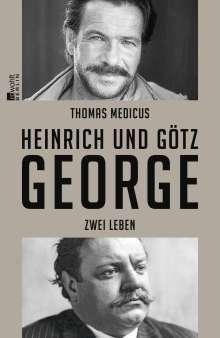 Thomas Medicus: Heinrich und Götz George, Buch