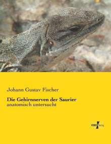 Johann Gustav Fischer: Die Gehirnnerven der Saurier, Buch