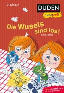 Sabine Stehr: Duden Leseprofi - Die Wusels sind los, 2. Klasse, Buch