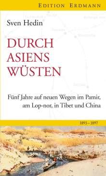 Sven Hedin: Durch Asiens Wüsten, Buch