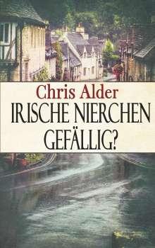 Chris Alder: Irische Nierchen gefällig?, Buch
