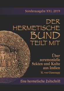 H. von Glasenapp: Über zeremonielle Sekten und Kulte aus Indien, Buch