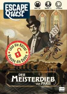 David Cicurel: Escape Quest - Der Meisterdieb von Paris, Buch