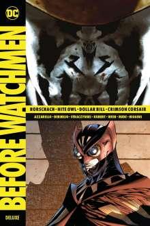 Brian Azzarello: Before Watchmen Deluxe, Buch