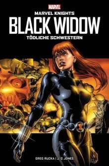 Greg Rucka: Marvel Knights: Black Widow: Tödliche Schwestern, Buch