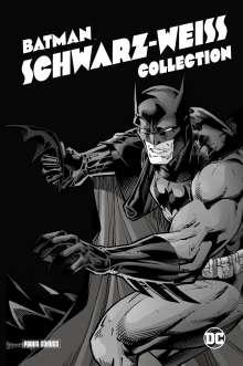 Ted Mckeever: Batman: Schwarz-Weiß Collection (Deluxe Edition), Buch