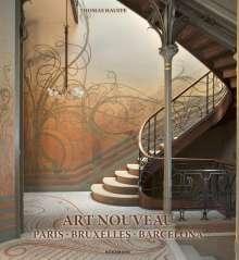 Thomas Hauffe: Art Nouveau Paris Bruxelles, Buch