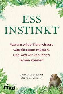 David Raubenheimer: Essinstinkt, Buch
