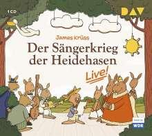 James Krüss: Der Sängerkrieg der Heidehasen - Live!, CD