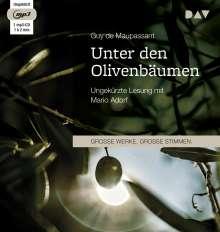Guy de Maupassant: Unter den Olivenbäumen, CD