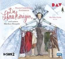 Hans Christian Andersen: Die Schneekönigin und weitere Märchen-Hörspiele, 3 CDs