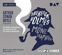Arthur Conan Doyle: Sherlock Holmes 1 - Die Monographien, 5 CDs
