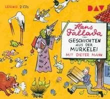 Hans Fallada: Geschichten aus der Murkelei, 2 CDs