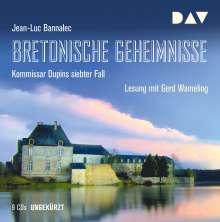 Bretonische Geheimnisse. Kommissar Dupins siebter Fall, 8 CDs
