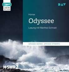 Homer: Odyssee, 2 CDs