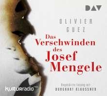 Olivier Guez: Das Verschwinden des Josef Mengele, 5 CDs