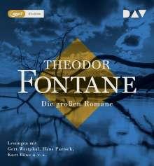 Theodor Fontane: Die großen Romane, 14 MP3-CDs und 1 CD