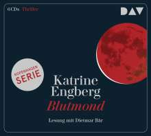 Katrine Engberg: Blutmond - Ein Kopenhagen-Thriller, 6 CDs