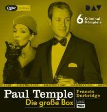 Paul Temple-Die große Box, 6 CDs