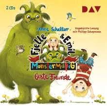 Fjelle und Emil - Monstermäßig beste Freunde, 2 CDs