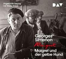 Georges Simenon: Maigret und der gelbe Hund, 4 CDs