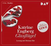 Katrine Engberg: Glasflügel. Ein Kopenhagen-Thriller, 7 CDs