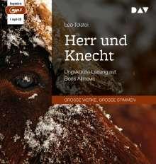 Leo N. Tolstoi: Herr und Knecht, MP3-CD