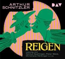 Arthur Schnitzler: Reigen, 2 CDs
