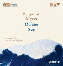 Benjamin Myers: Offene See, MP3-CD