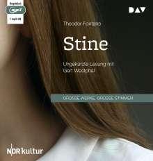 Theodor Fontane: Stine, MP3-CD
