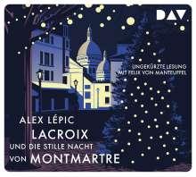 Lacroix und die stille Nacht von Montmartre, 5 CDs