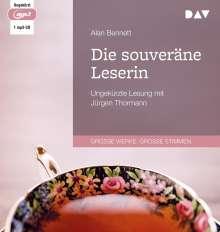 Alan Bennett: Die souveräne Leserin, MP3-CD