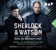 Sherlock & Watson-Neues aus der Baker Street, 2 CDs