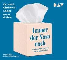 Christine Löber: Immer der Nase nach. Wie Hals, Nase und Ohren uns im Leben lenken, 4 Diverse