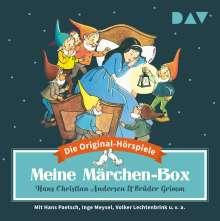 Jacob Grimm: Meine Märchen-Box - Die 34 schönsten Märchen-Hörspiele, 6 CDs