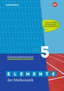 Elemente der Mathematik Klassenarbeitstrainer 5. G9 in Nordrhein-Westfalen, Buch