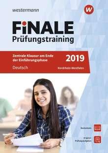 Marina Dahmer: FiNALE Prüfungstraining Zentrale Klausuren am Ende der Einführungsphase Nordrhein-Westfalen. Deutsch, Buch