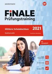 Bernhard Humpert: FiNALE Prüfungstraining 2021 Mittlerer Schulabschluss Nordrhein-Westfalen. Mathematik, 1 Buch und 1 Diverse