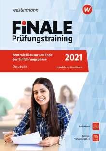 Marina Dahmer: FiNALE Prüfungstraining Zentrale Klausuren am Ende der Einführungsphase Nordrhein-Westfalen. Deutsch 2021, Buch