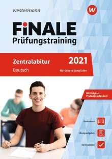 Marina Dahmen: FiNALE Prüfungstraining 2021 Zentralabitur Nordrhein-Westfalen. Deutsch, 1 Buch und 1 Diverse