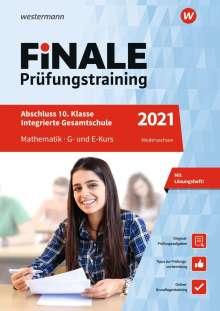 Julia Hartmann: FiNALE Prüfungstraining 2021 Abschluss Integrierte Gesamtschule Niedersachsen. Mathematik, 1 Buch und 1 Diverse