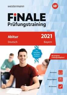 Harald Fischmann: FiNALE Prüfungstraining 2021 Abitur Bayern. Deutsch, 1 Buch und 1 Diverse