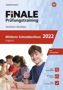 Gerhard Adams: FiNALE - Prüfungstraining Mittlerer Schulabschluss Nordrhein-Westfalen. Englisch 2022, Buch