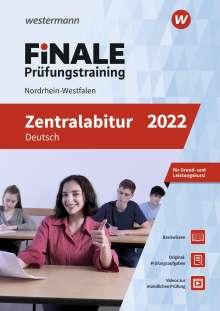 Marina Dahmen: FiNALE Prüfungstraining Zentralabitur Nordrhein-Westfalen. Deutsch 2022, Buch