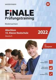 Walburga Böker: FiNALE Prüfungstraining Abschluss 10. Klasse Realschule Niedersachsen. Deutsch 2022, Buch
