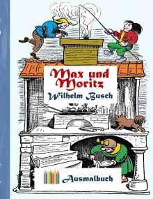 Wilhelm Busch: Max und Moritz (Ausmalbuch), Buch