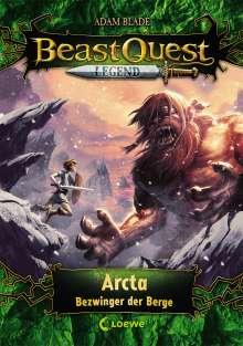 Adam Blade: Beast Quest Legend 3 - Arcta, Bezwinger der Berge, Buch