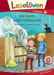 Amelie Benn: Leselöwen 1. Klasse - Die beste erste Reitstunde, Buch