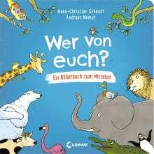Hans-Christian Schmidt: Wer von euch?, Buch
