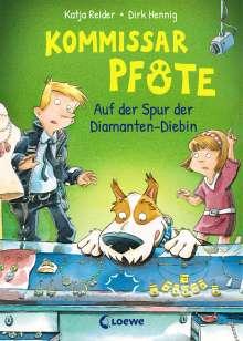 Katja Reider: Kommissar Pfote 2 - Auf der Spur der Diamanten-Diebin, Buch